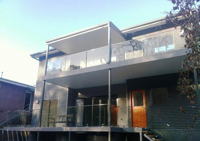 Designer Glass Fencing st ives