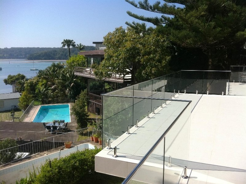 Designer Glass Fencing Northern Beaches