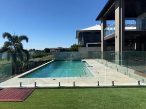 Glass Pool Fencing St Clair